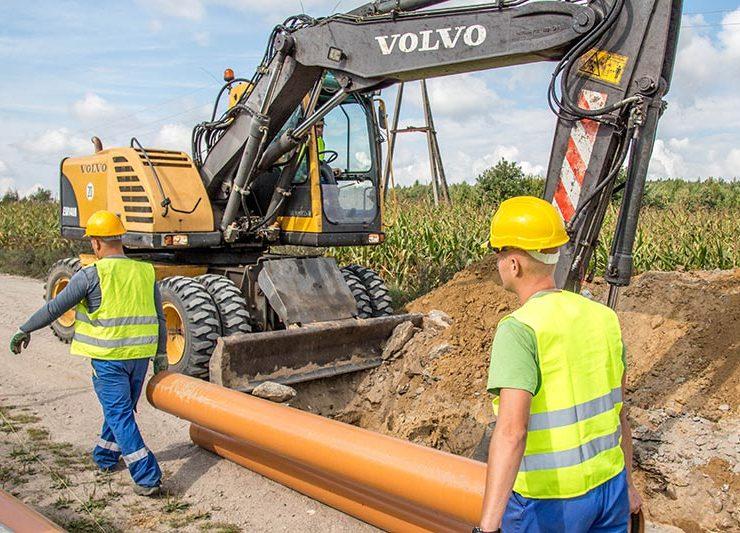Usługi wodno-kanalizacyjne