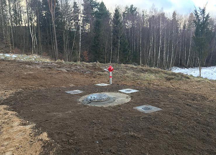 Nowa stacja redukcyjna ciśnienia wody – Rybaki