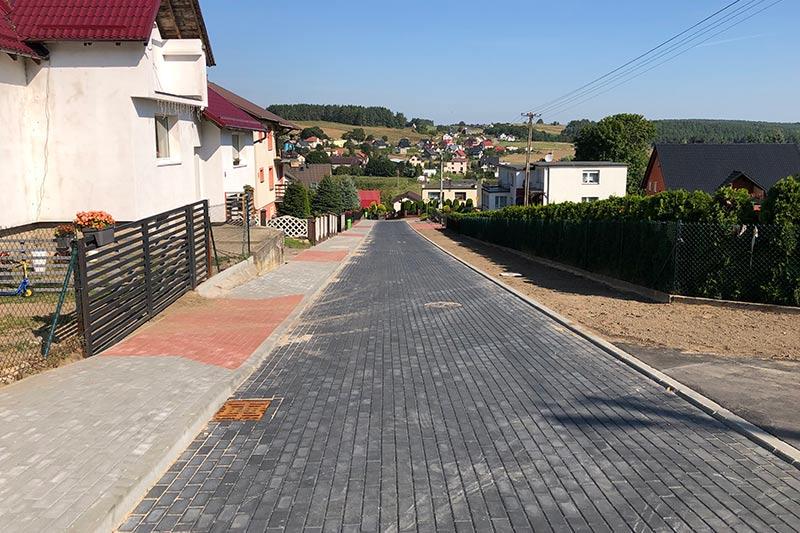 Przebudowa ulicy Szkolnej w Goręczynie